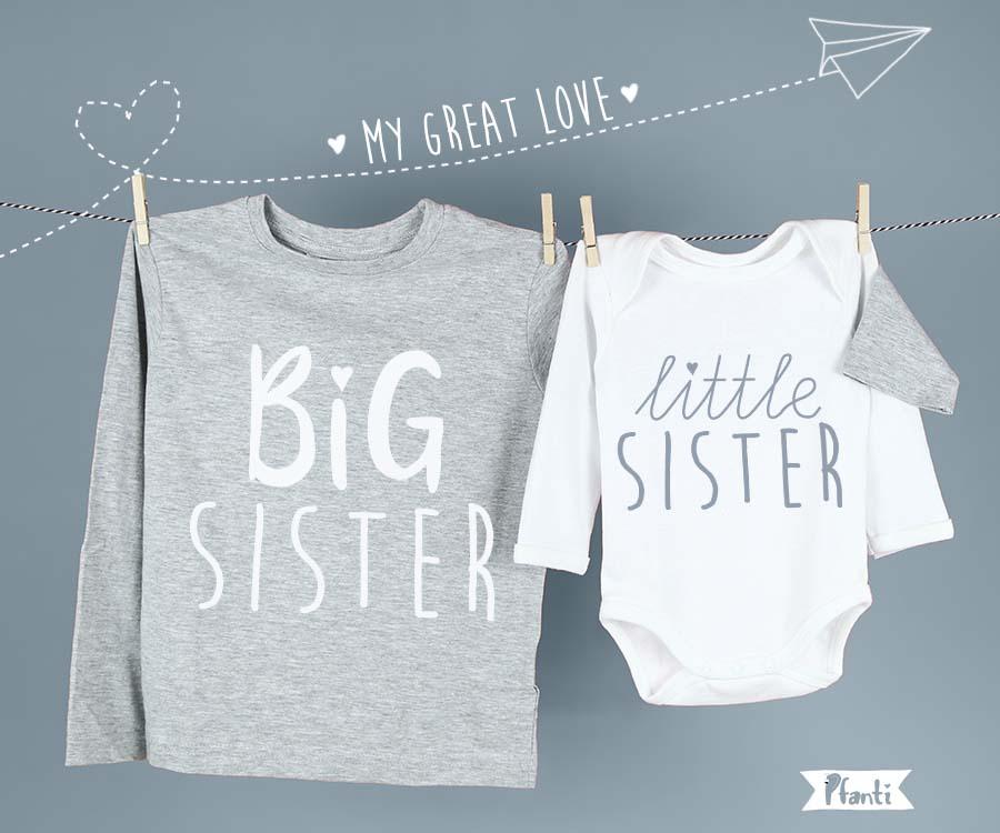 Bügelbild Schwestern