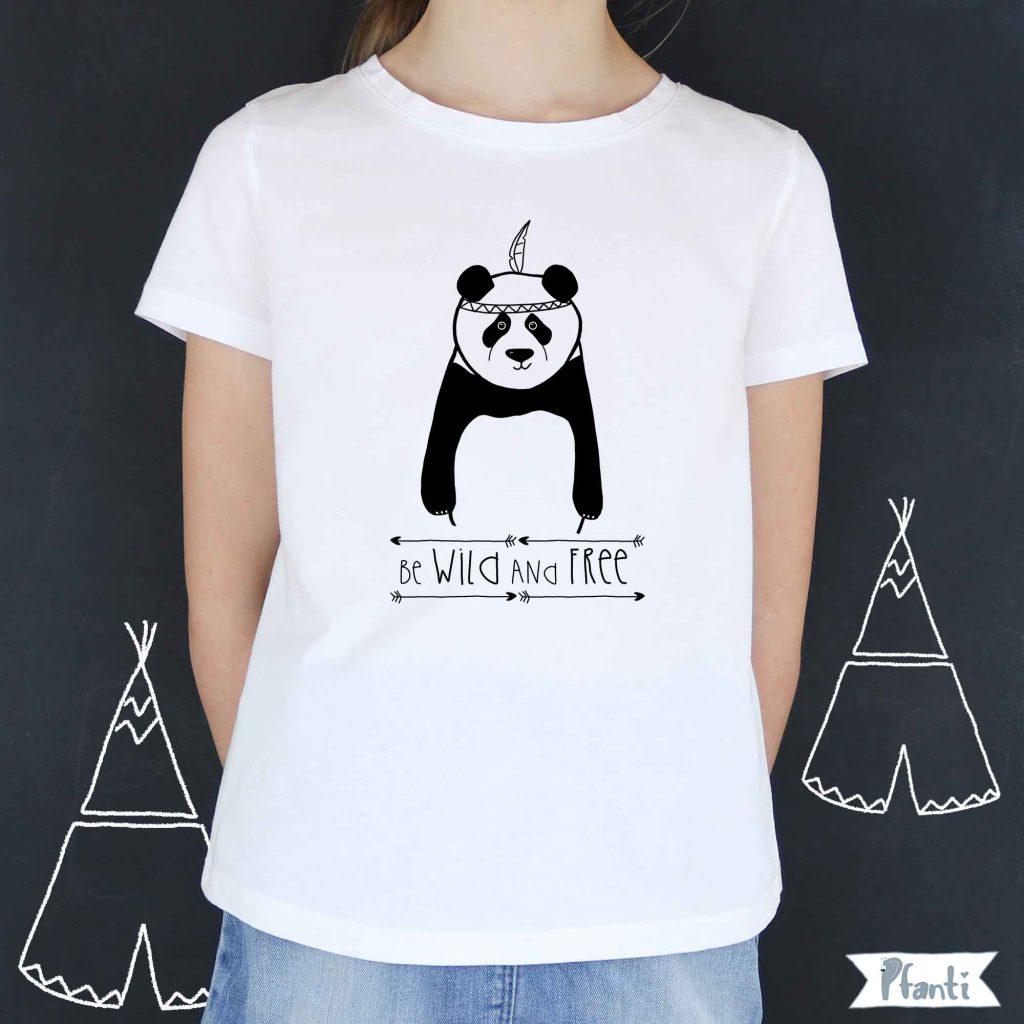 Bügelbild Panda