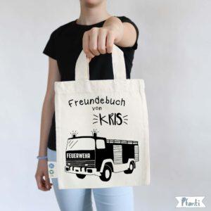 Freundebuchtasche Feuerwehr