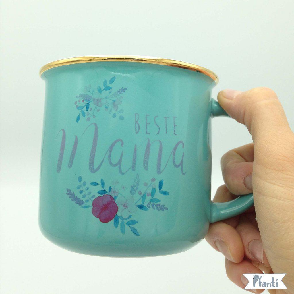 Porzellansticker Beste Mama
