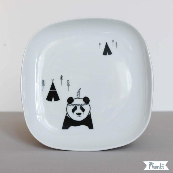 Porzellansticker Panda