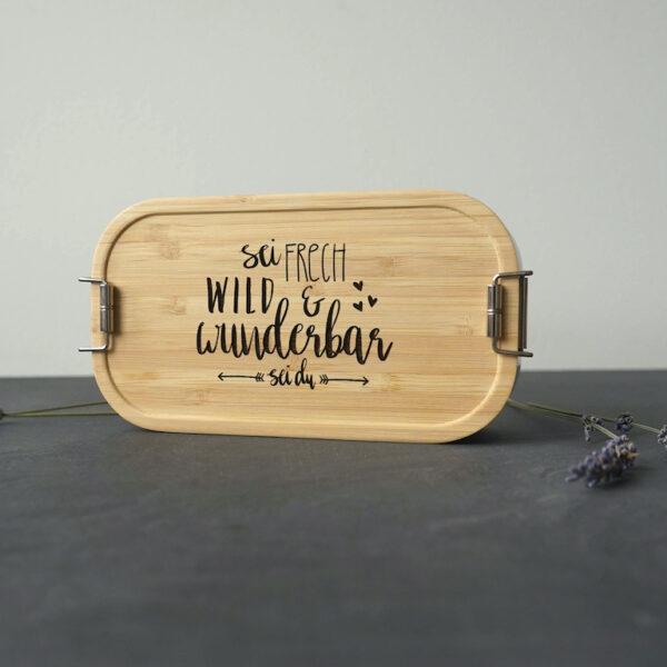 Brotdose Lunchbox Sei frech