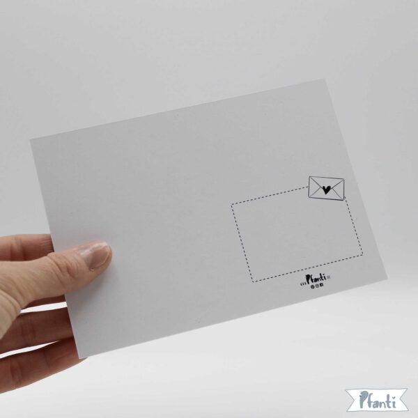 Rückseite Postkarte DIN A6