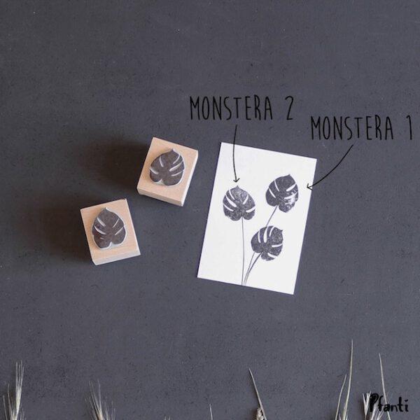 Stempel Monstera