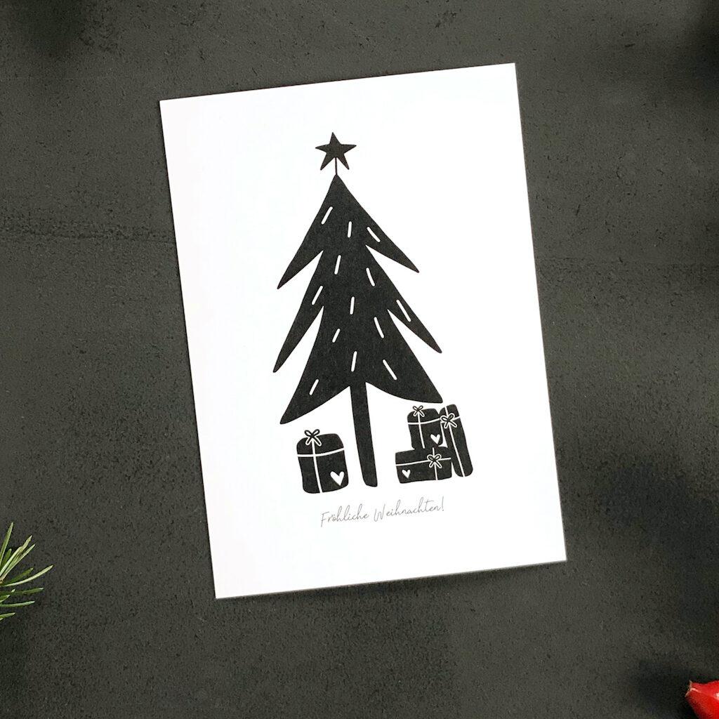 Weihnachtskarte DIN A6