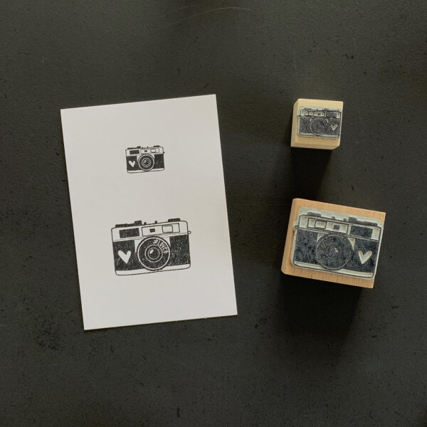 Stempel Kamera, Fotoapparat